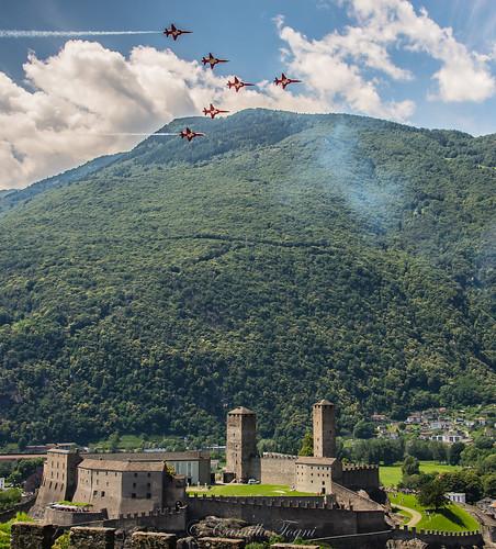 Patrouille Suisse Bellinzona