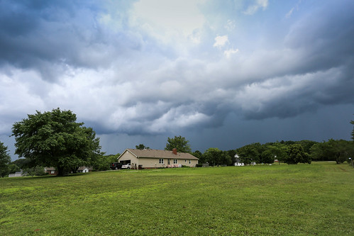 Approaching thunderstorm - Anderson S.C.