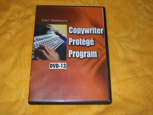 Carl Galletti - Copywriter Protege Program