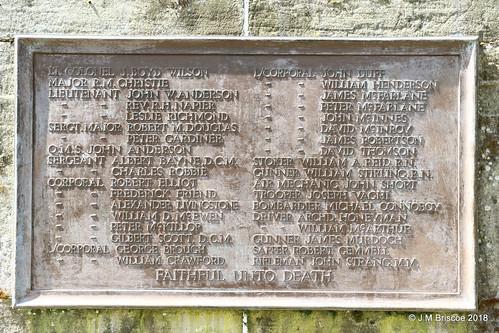 Dunblane War Memorial