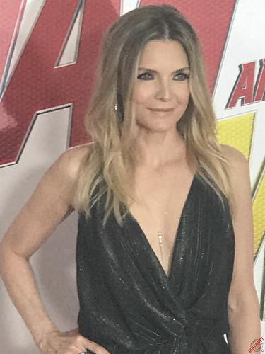Michelle Pfeiffer at Marvel's