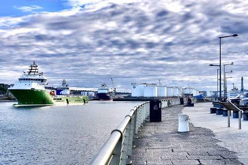 Havila Borg- Aberdeen Harbour Scotland - 4/7/2018