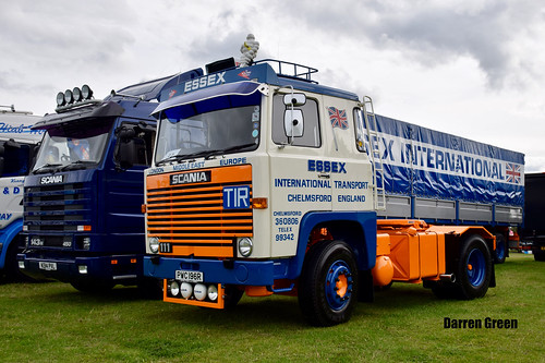 ESSEX INTERNATIONAL TRANSPORT SCANIA 111 4x2 PWC 196R