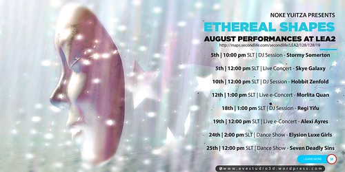 Ethereal Shapes August Performances