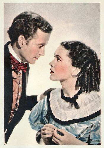 Frank Lawton and Maureen O'Sullivan in David Copperfield (1935)