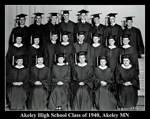 Akeley High School Class of 1940, Akeley MN
