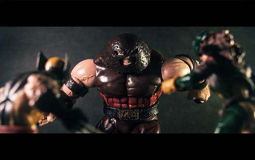 Marvel Legends Wolverine and Rogue Prepare to Tangle with the Juggernaut!