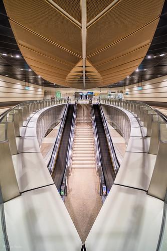 Geometrical Game || Juego Geométrico (Geylang Bahru MRT Station, Downtown Line. Singapore)