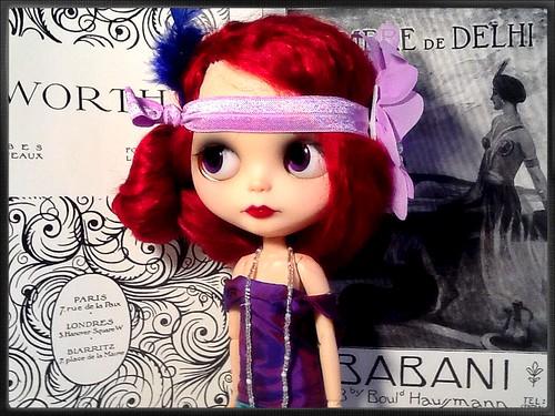 Blythe-a-Day#11. Higgledy, Piggledy, My Black Hen: Narcissa Rose