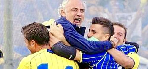 19 giugno 2011, Salernitana-Verona 1-0, l'Hellas torna in Serie B!