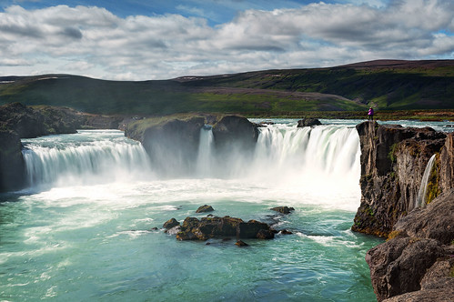 Godafoss and Kevin