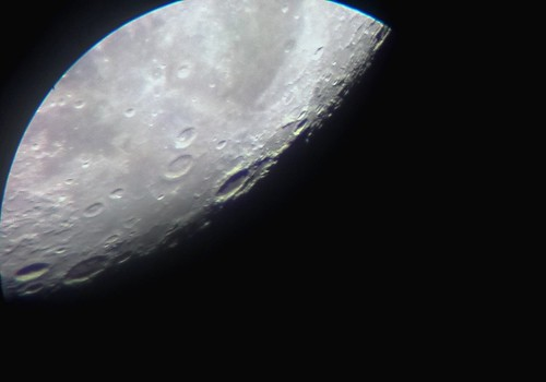 Moon Jul 29th 2018, sunset over Endymion crater