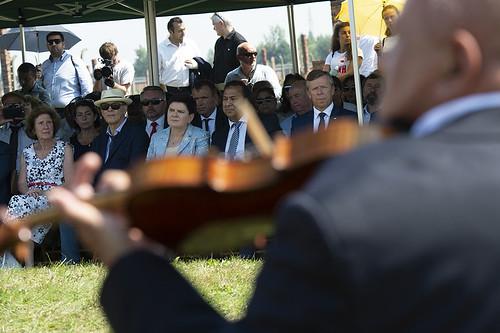 Dzień Pamięci o Zagładzie Sinti i Romów w Oświęcimiu