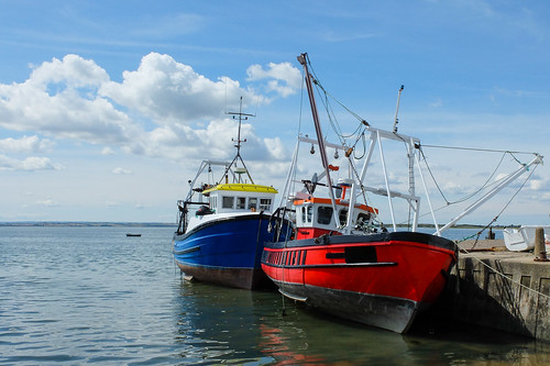 Fishing boats in Old Leigh.