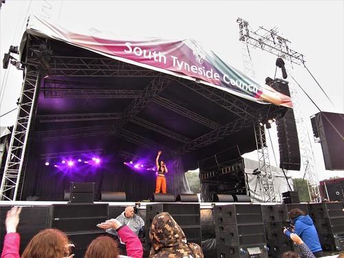 Sam Lavery, South Tyneside Summer Festival - Bents Park, South Shields