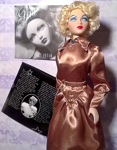 Hollywood Golden Age Doll Star Gene Marshall: Fascinating Doll History!!!