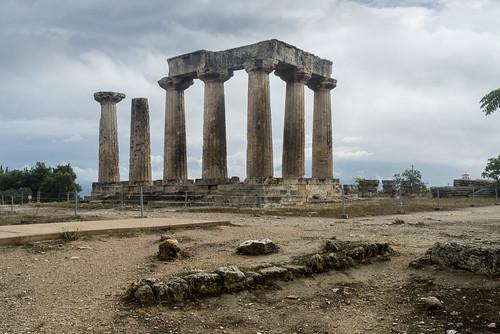 Ancient Corinth XXIX - Apollo's Temple Again