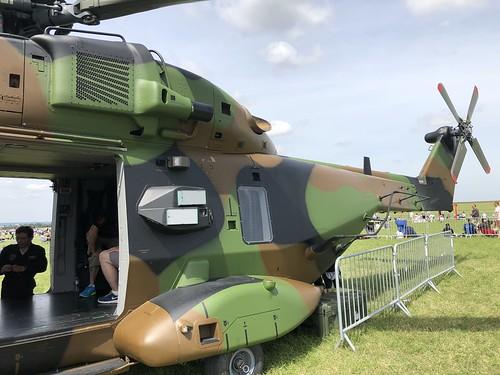 Hélicoptère transport militaire CAÏMAN NH90 : Meeting aérien - Meaux (77)