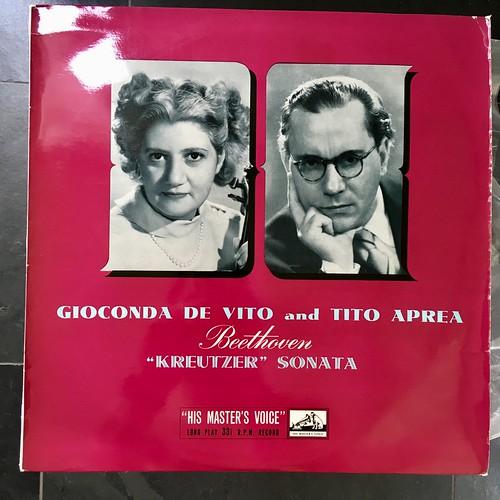 Gioconda de Vito and Tito Aprea