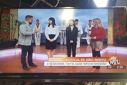 We were interviewed at Televisa News!