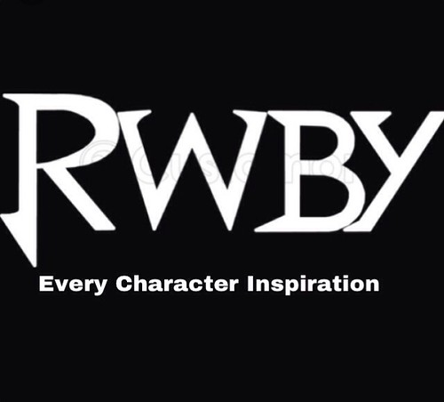 A list of RWBY character inspirations