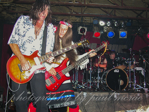 Pat Travers with Greg T. Walker and Simon Wright