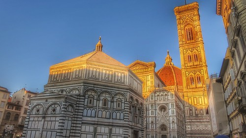 The Baptistry of San Giovanni Duomo Cathedral Firenze Italy