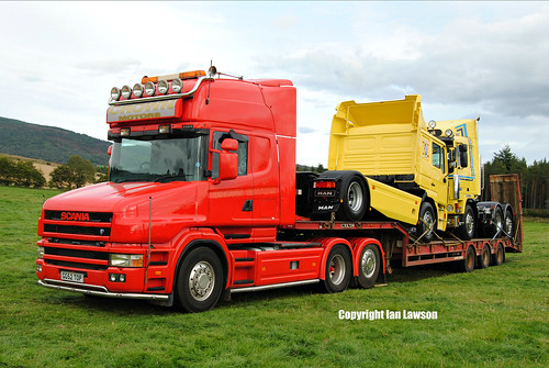 CG52 TOP Crown Motors Scania 124 420 Topline T-Cab