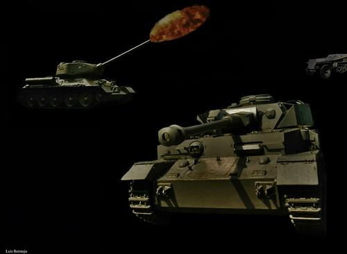 Combate de Tanques - WW II