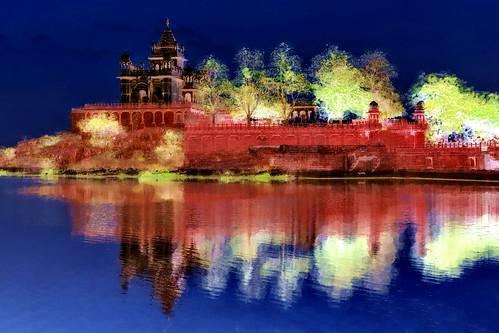 India - Rajasthan - Jodhpur - Jaswant Thada - 171bb