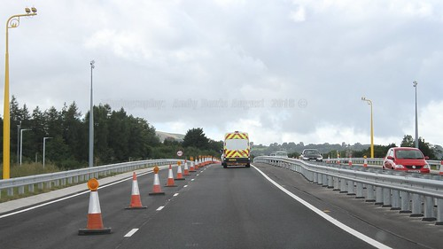 24 A465 Dualling Gilwern to Brynmawr August 2018 Wales UK