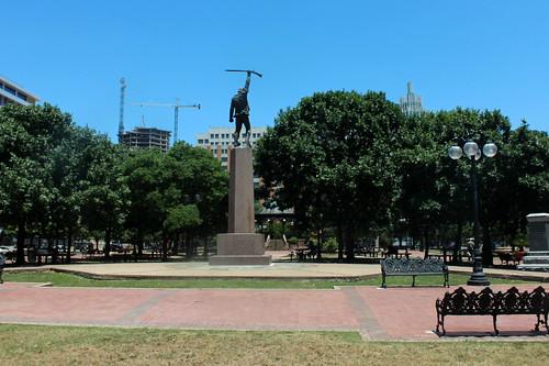 San Antonio - Downtown: Milam Park