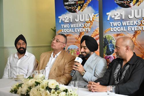 Festival of Thetford & Punjab - Press launch with our Patron Satinder Sartaaj