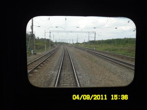 013. Телеэкран последнего вагона.