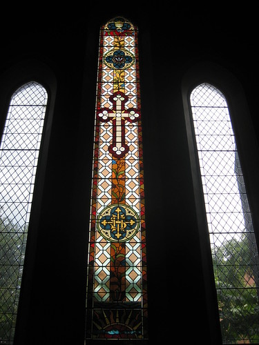 The A. E. Woolley Memorial Stained Glass Window of 1898: St. Mark the Evangelist Church of England - George Street, Fitzroy