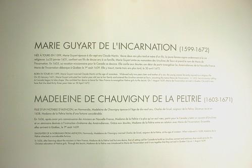 Day 10 - Québec City S - Monastère des Ursulines, the Founders