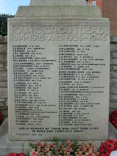 War Memorial, Fleet, Hampshire