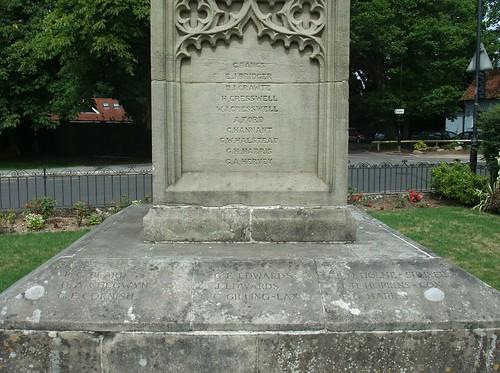 War Memorial, Grayshott, Hampshire