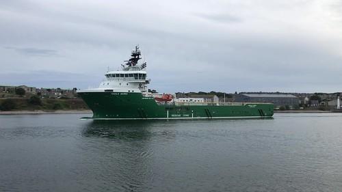 Havila Borg - Aberdeen Harbour Scotland - 18/8/18