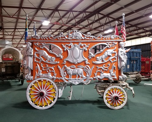 Barnum & Bailey Whiskers Cage Wagon #89