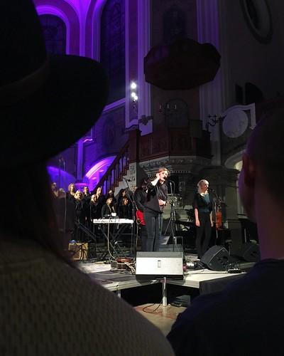 friday, concert with annika norlin, säkert!, and vegakören, vega choir, sankt johannes kyrka, church, malmö