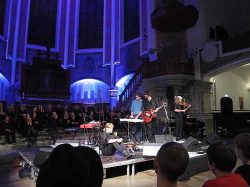 friday, concert with annika norlin, säkert!, and vegakören, vega choir, sankt johannes church, malmö