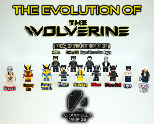 The Evolution of the Wolverine [VARIANTS]