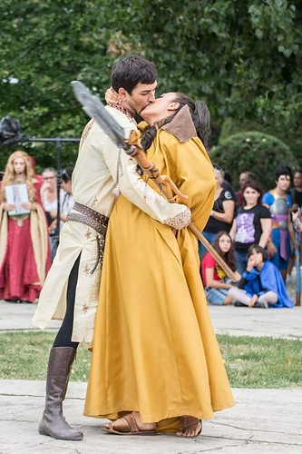 OBERYN & ELLARIA MARTELL  GAME OF THRONES - NARSILION Grazzano Visconti 2018
