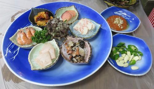 Jagalchi Market Meal (Busan, South Korea)