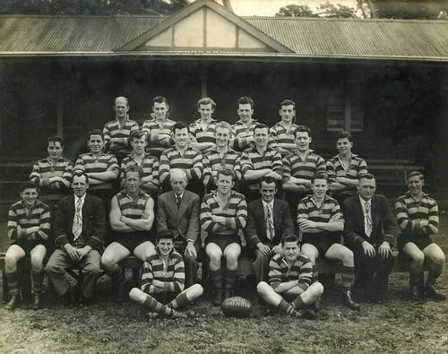 Williamstown CYMS Football Club - 1955 - Premiers