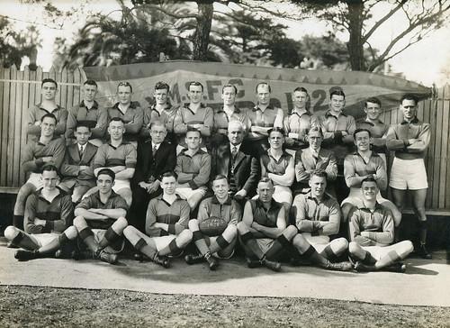 Williamstown CYMS Football Club - 1938 - Club Photo