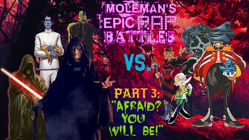 Moleman's Epic Rap Battles #43-C: Palpatine Vs. Eggman