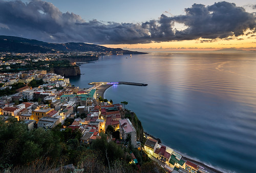 Italy: The Bay of Naples.