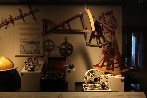 Navigation Exhibit - Octants, Sextants, Quadrants